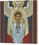 St. Joan Of Arc With St. Michael The Archangel 042 Wood Print