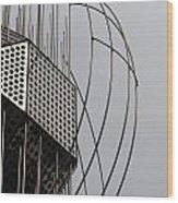 St. Joan Sculpture Vertical Wood Print