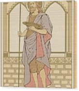 St John The Baptist Wood Print by English School