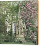 St. John The Divine Grounds Wood Print