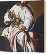 St John The Evangelist Wood Print
