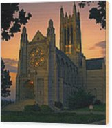 St Johns Cathedral - Spokane Wood Print
