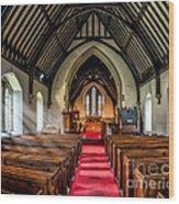 St Johns Church Wood Print by Adrian Evans