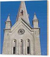 St. John's Church Cesis Wood Print