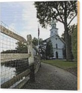 St. John's Church Cold Spring Harbor New York Wood Print