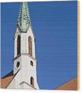 St. John's Church Riga Wood Print