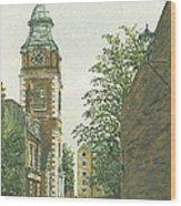 St Johns Church Wapping From Scandrett Street Wood Print
