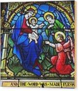 St Johns Church Wash Dc . Wood Print