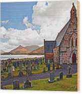 St  Johns Episcopal Ballachulish Wood Print
