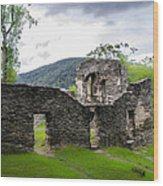 St. John's Episcopal Church Ruins  Harpers Ferry Wv Wood Print