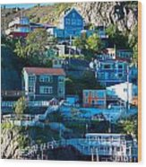 St. John's Harbor Wood Print