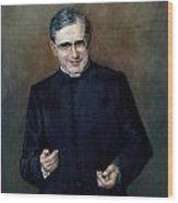 St. Josemaria Escriva Wood Print