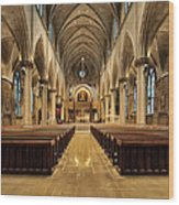St Joseph Cathedral IIi Wood Print