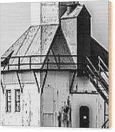 St. Joseph Lighthouse Vertical Panorama Picture  Wood Print