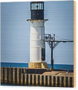 St. Joseph Outer Lighthouse Photo Wood Print