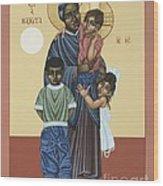 St. Josephine Bakhita Universal Sister 095 Wood Print