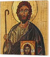 St. Jude The Apostle Wood Print