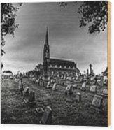 St Libory Church Wood Print
