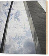 St Louis Arch  Wood Print