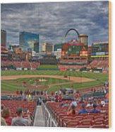 St Louis Cardinals Busch Stadium Dsc06139 Wood Print