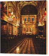 St. Louis Cathedral New Orleans - Textured Wood Print