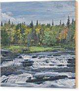 St Louis River Jay Cooke State Park Wood Print