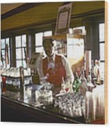 St. Louis: Showboat Wood Print