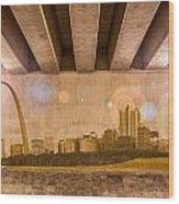 St. Louis Skyline Wood Print