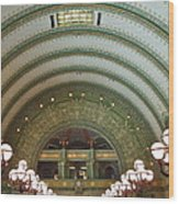 Ornate St. Louis Station Wood Print