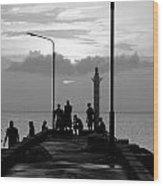 St Lucia Anse La Raye 01 Wood Print