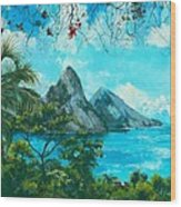 St. Lucia - W. Indies Wood Print