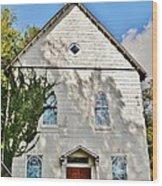 St. Luke African Methodist Episcopal Church - Ellicott City Maryland Wood Print