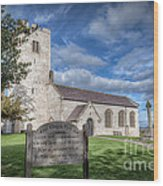 St Marcella's Church Wood Print