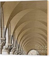 St. Marks Basilica Arches Venice Wood Print