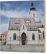 St. Mark's Church Wood Print by Jelena Jovanovic