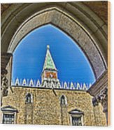 St Marks Tower - Venice Italy Wood Print