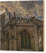 St Martin Coney Street In York Wood Print