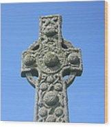 St. Martin's Cross Close Up Wood Print