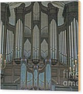 St Martins In The Field Organ Wood Print