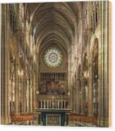 St. Mary Cathedral Basilica Of The Assumption Wood Print