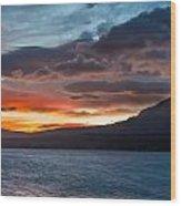 St. Mary Lake Dawn 1 Wood Print