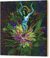 St. Mary Of The Lotus Sta. Maria De El Loto Wood Print