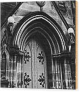 St Marys Cathedral Doors Wood Print