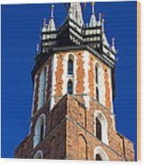 St. Mary's Church Tower Wood Print