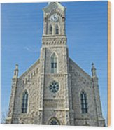 St. Mary's In Port Washington  Wood Print