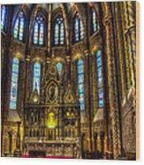 St Matthias Church Interior Wood Print
