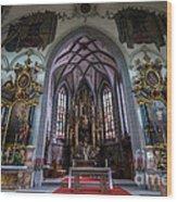 St. Maurice Church - Appenzell - Switzerland Wood Print