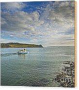 St Mawes Ferry Duchess Of Cornwall Wood Print