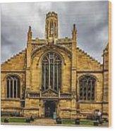 St Michael Le Belfry Church Wood Print