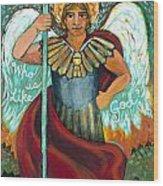 St. Michael The Archangel Wood Print